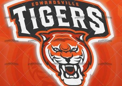 Tiger Athletics Concept Logo for Sale