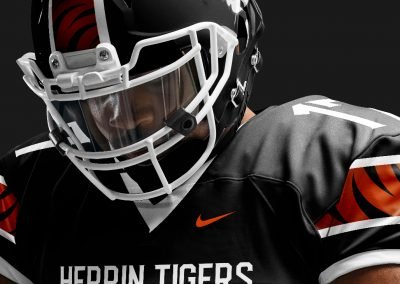 Herrin Football Tigers Concept