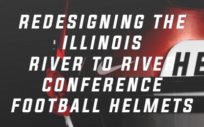 Redesigning the Southern Illinois River-to-River Football Helmets